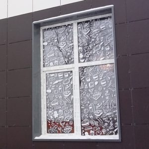 На окна
